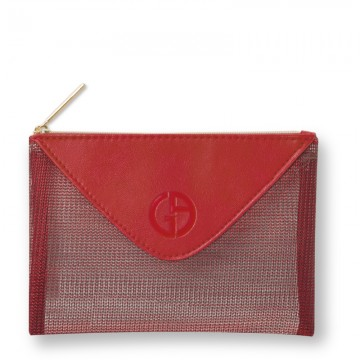 Regalo Armani Red Wallet