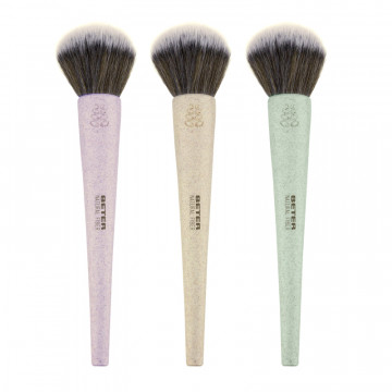 Natural Fiber Large Powder Brush