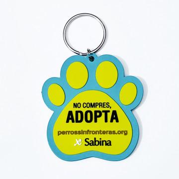 Portachiavi Solidarietà Cani Senza Frontiere