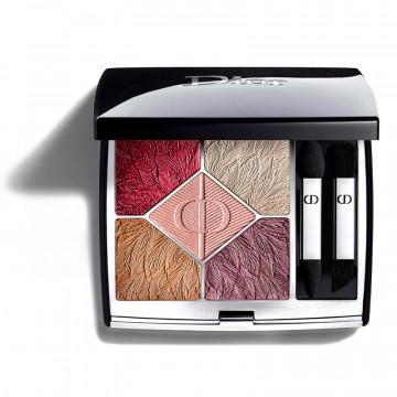 Paleta de sombras de ojos - colores intensos - polvo cremoso de larga duración