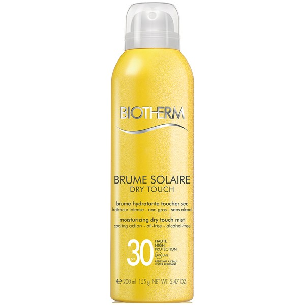 Image of Biotherm Corps Brume Solaire Dry Touch Moisturizing Mist SPF30